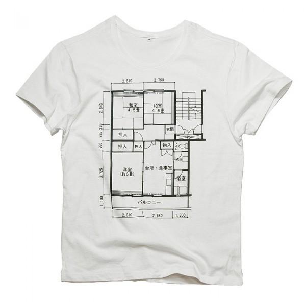 間取り Tシャツ